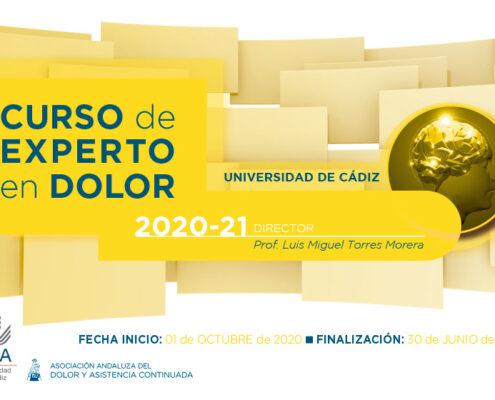 Curso de Experto en Dolor, 2020 - 2021
