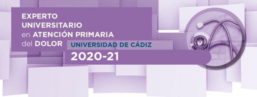 Experto Universitario en Atención Primaria del Dolor, 2020 - 2021